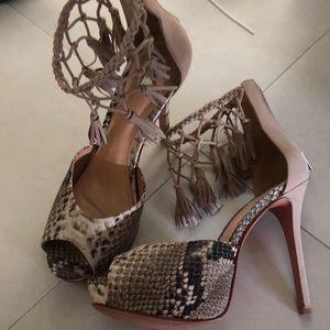 Schutz high heels sandals